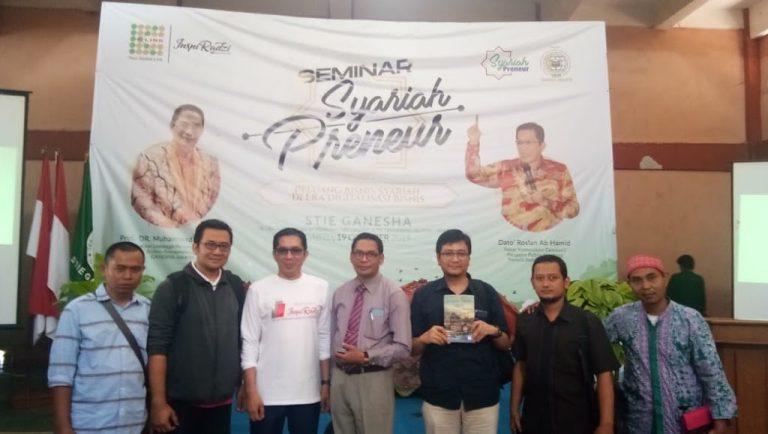 LPETS  STIE Ganesha Jakarta Selenggarakan Seminar Syariah Preneur