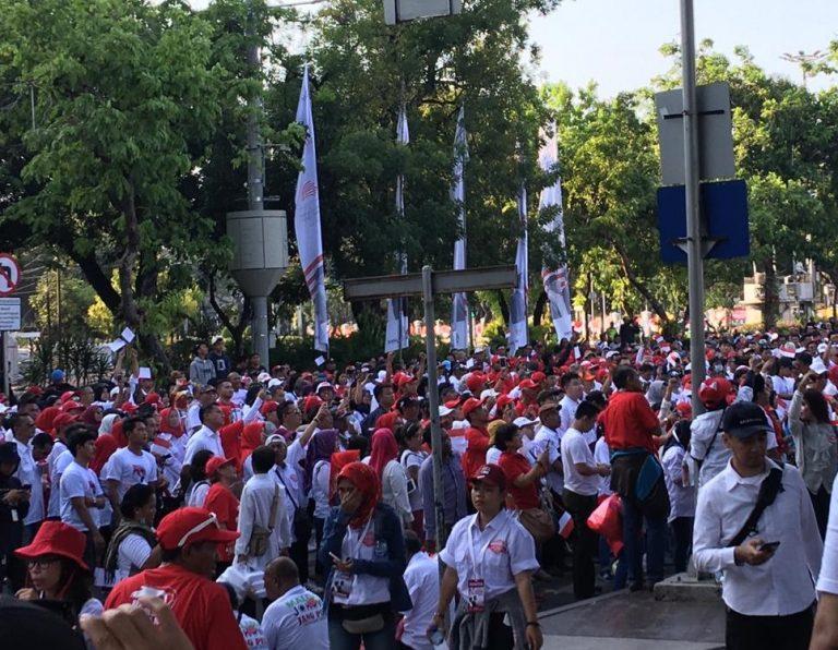 Relawan Padamu Negeri (RPN) Syukuran Inagurasi  dan Doa Pelantikan di Taman Pandang Istana