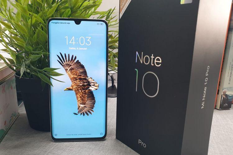 Mi Note 10 Pro Smartphone Pertamakali Berkamera 108 Megapiksel