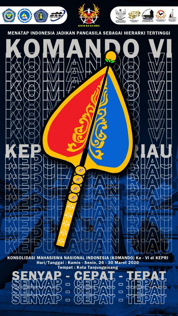 Konsolidasi Mahasiswa Nasional Indonesia (KOMANDO) Ke-VI di Kepri, 26-30 Maret 2020