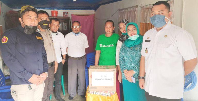Laporan Warga Tak dapat Bantuan, Ketua TP PKK Kecamatan Turikale Sikapi Dengan Cepat