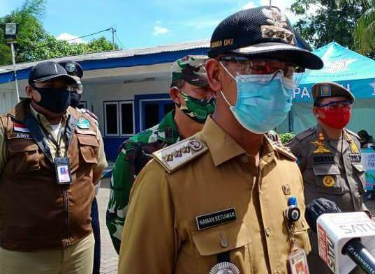 Pos Check Point di Wilayah Kalideres Diperketat, Antisipasi Penyebaran Covid-19 Jelang Arus Balik