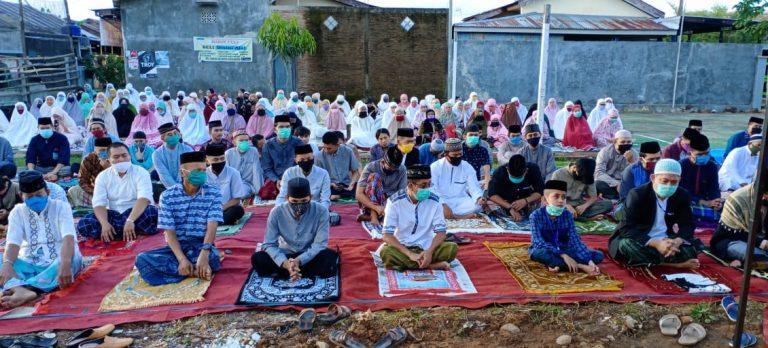 Ikuti Protokol Kesehatan, Kelurahan Bontoa Kecamatan Mandai Tetap Laksanakan Shalat Idul Fitri 1441 H