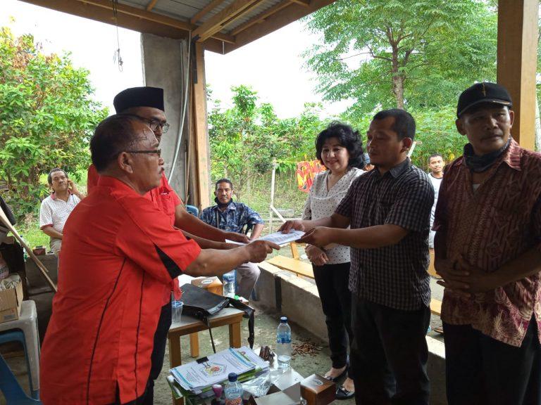 DPD Relawan Padamu Negeri Sumut Sahkan Ketua dan Pengurus Deli Serdang Terpilih Dengan Menyerahkan SK